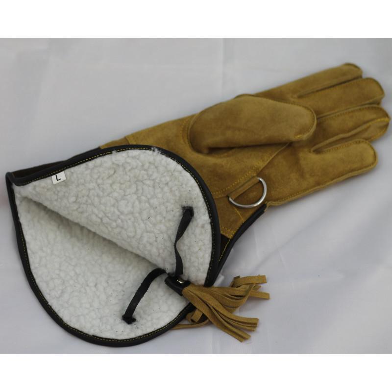 Rękawica sokolnicza - wersja jastrzębia zimowa
